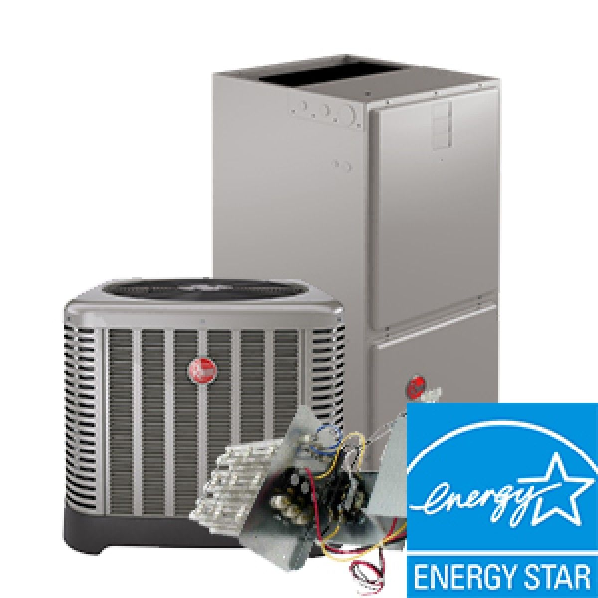 Rheem 5 Ton 16 Seer Electric Heat System Energy Star