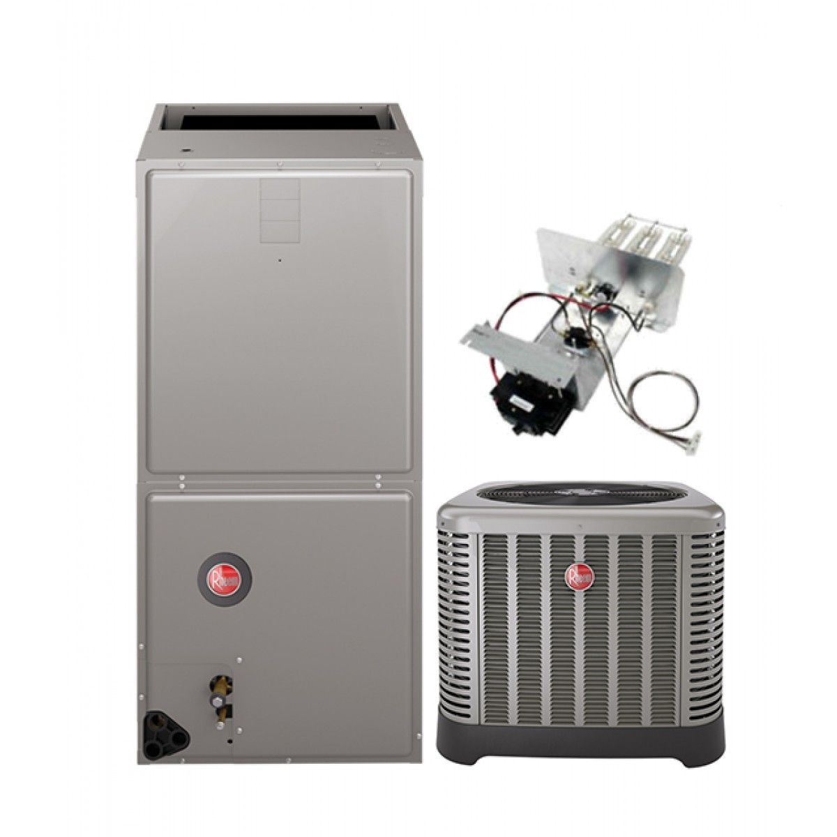 Rheem 3 0 Ton 14 Seer Air Conditioning System With