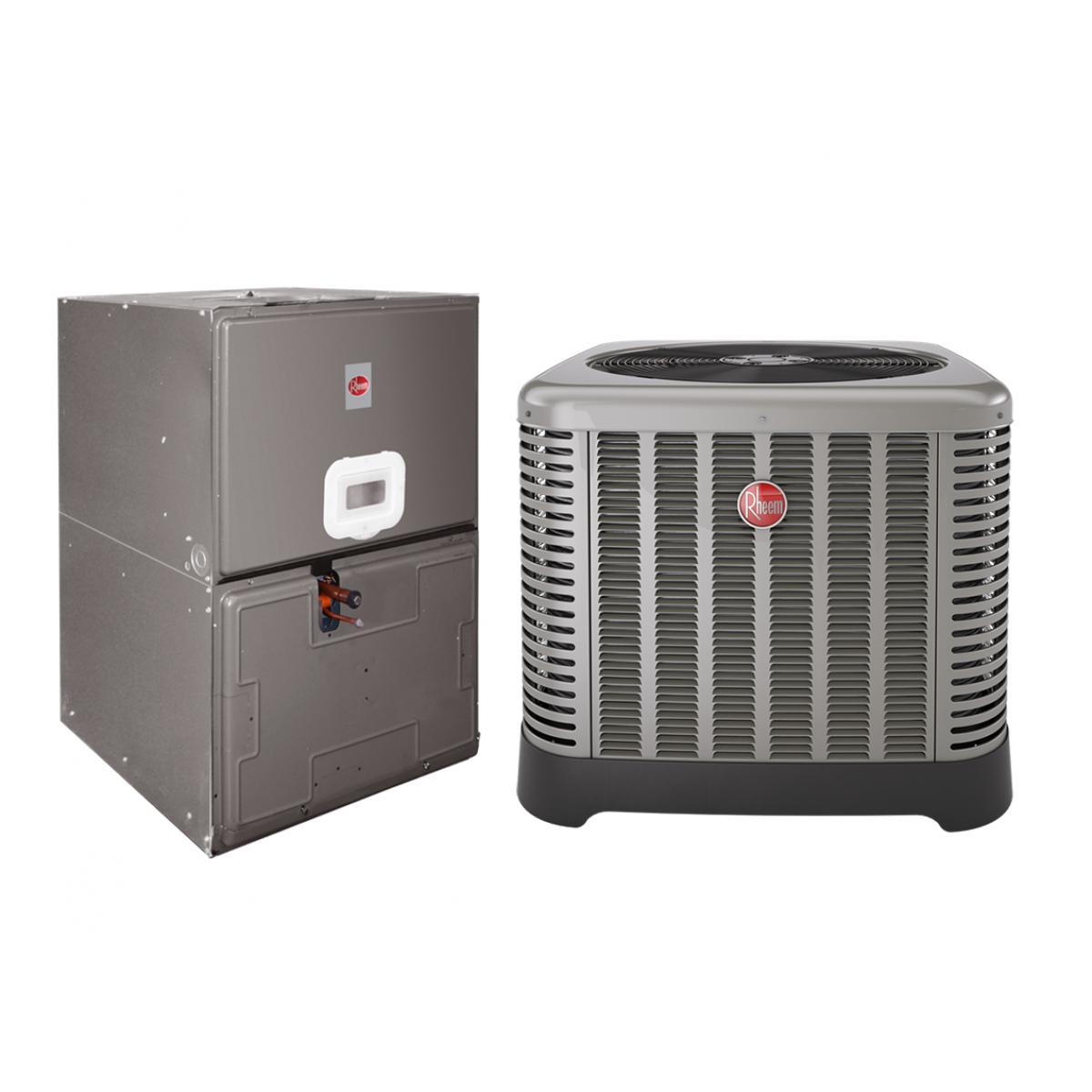 Rheem 3.5 Ton 14 SEER Electric Heat Split System with 7KW ; 35\