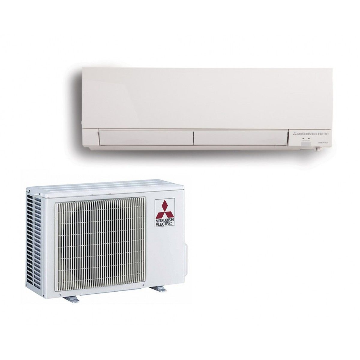 Mitsubishi 9 000 btu heat pump hyper heat 30 seer system for Ductless ac