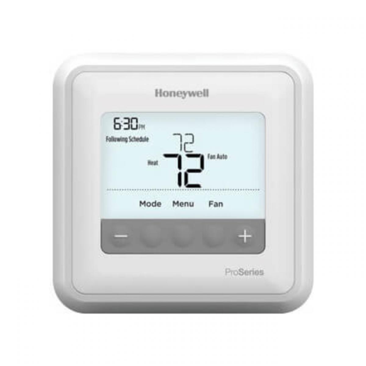 Honeywell Pro 4000 Programmable 1 Heat  1 Cool Thermostat