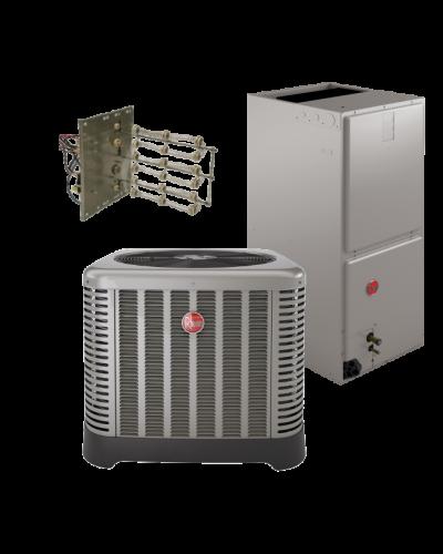 Rheem 14 5 Seer 3 5 Ton Heat Pump System