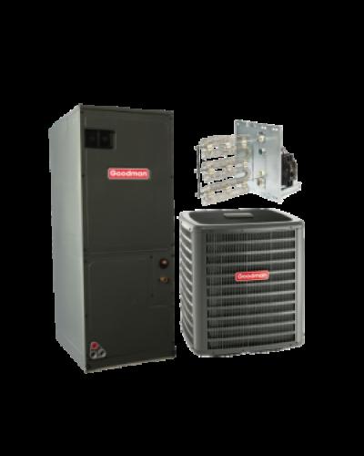 Goodman 3 5 Ton 15 Seer Heat Pump Split System Ac Heat