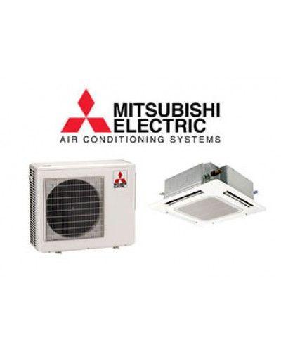 Mitsubishi 9 000 10 900 Btu Heat Pump W Ceiling Recessed