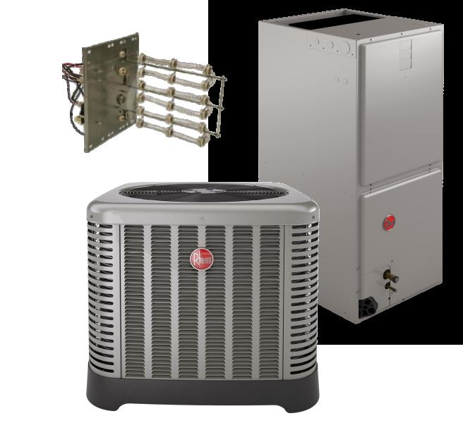 Rheem 15 SEER 5 Ton  Heat Pump System