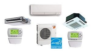Mitsubishi 3 Zone 30K BTU Heat Pump Hyper Heat With up to Three Indoor Units