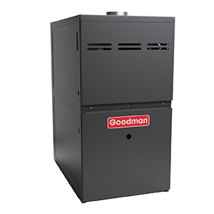 Goodman Gas Furnace - 80,000 BTU 80% Natural Gas Or Propane Single Stage Upflow/Horizontal - Ultra Low Nox CA Only - GMES800804