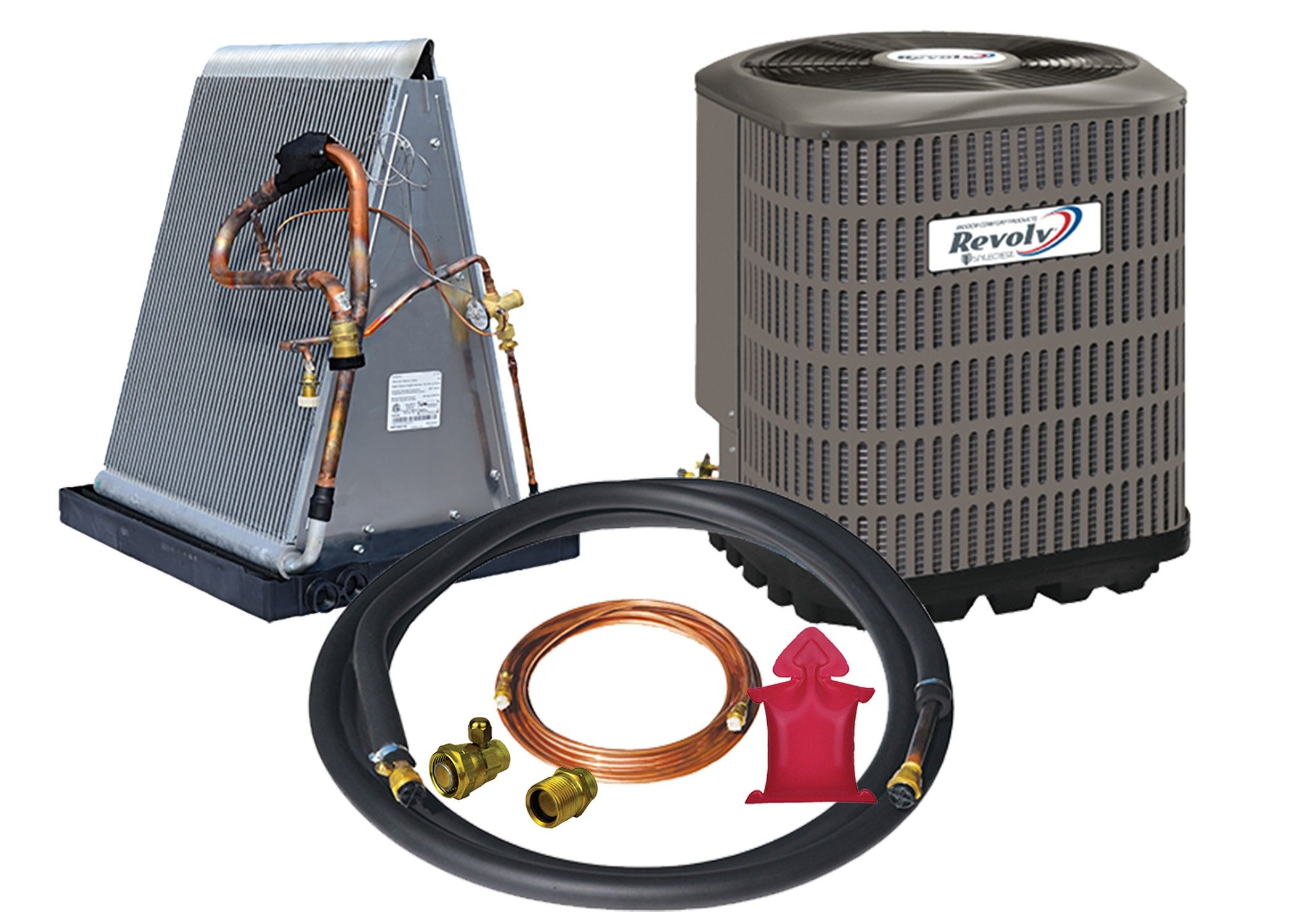 Revolv 3.0 Ton Heat Pump System Add On To Existing Furnace