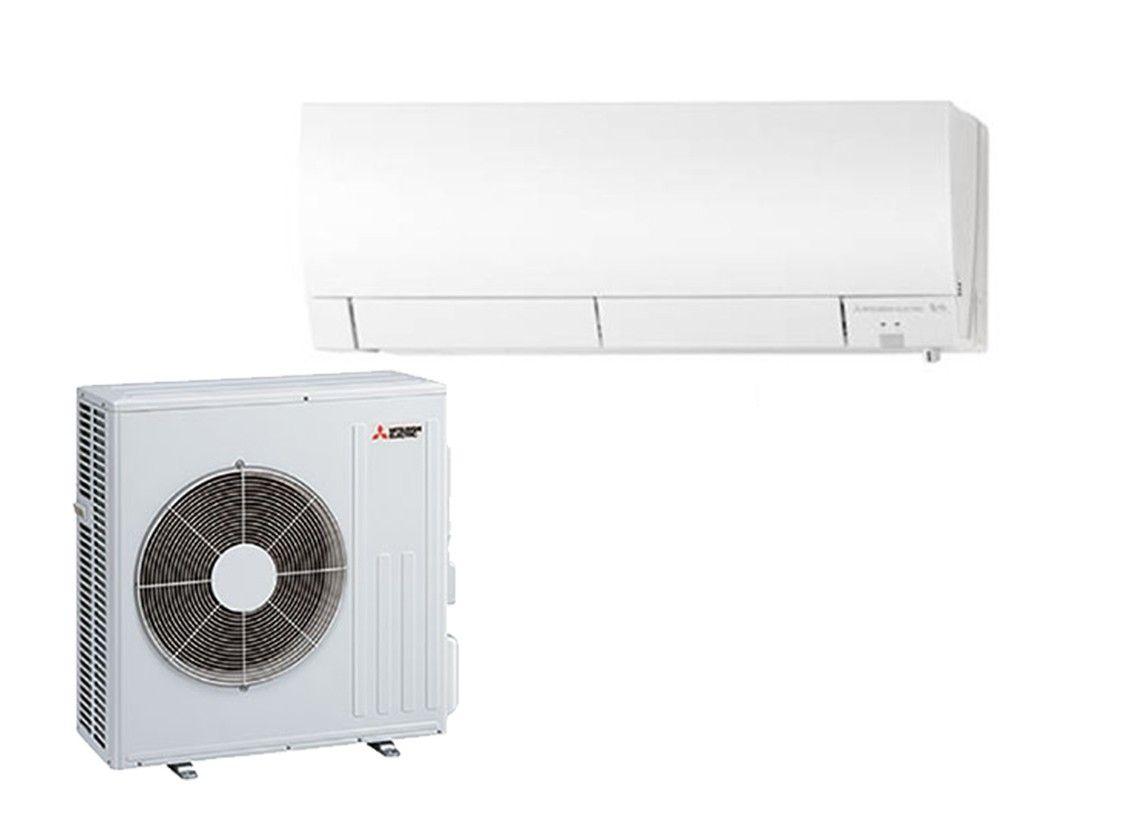 Mitsubishi 18,000 BTU Heat Pump Hyper Heat 21 SEER System