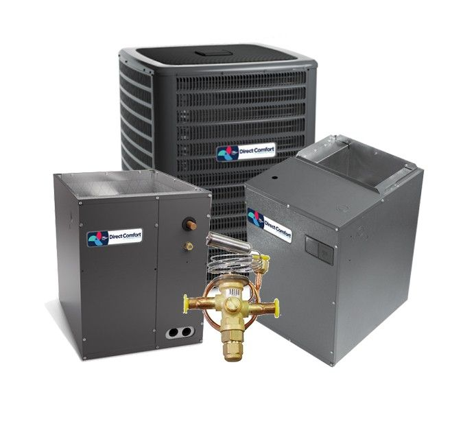 Direct Comfort 3.0 Ton 19 SEER Two Stage Variable Speed Split System Cooling Only - UPFLOW
