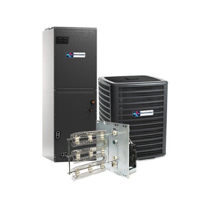 Direct Comfort 1.5 Ton 16 SEER Heat Pump System STAR ENERGY