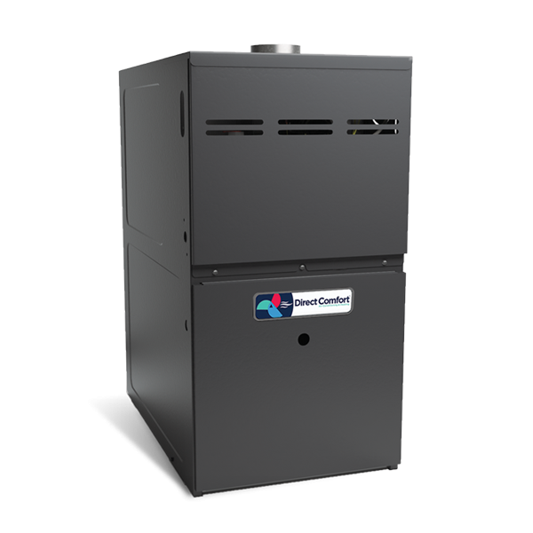 Direct Comfort Gas Furnace - 80,000 BTU 80% Natural Gas Or Furnace Single Stage Upflow/Horizontal - DC-GMES800804BN