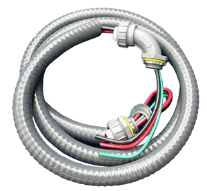 "Electrical whip 3/4"" 60 amp 6'"