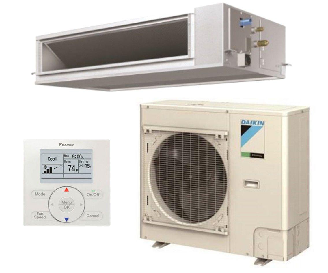DAIKIN SkyAir 24K BTU 16.5 SEER Cooling Only Horizontal Ducted System- Commercial