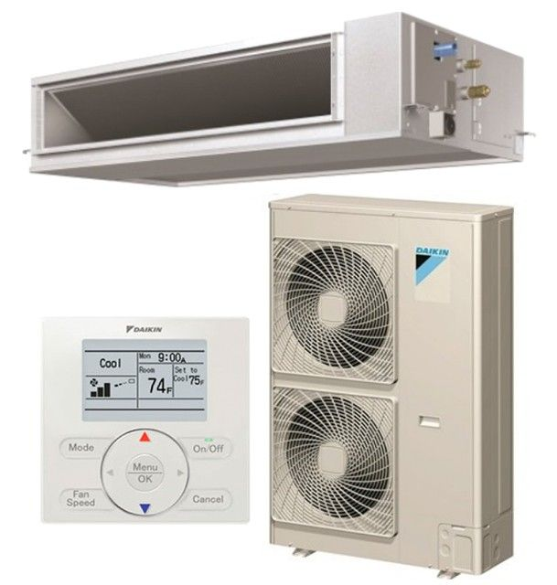 DAIKIN SkyAir 42K BTU 16.0 SEER Cooling Only Horizontal Ducted System - Commercial