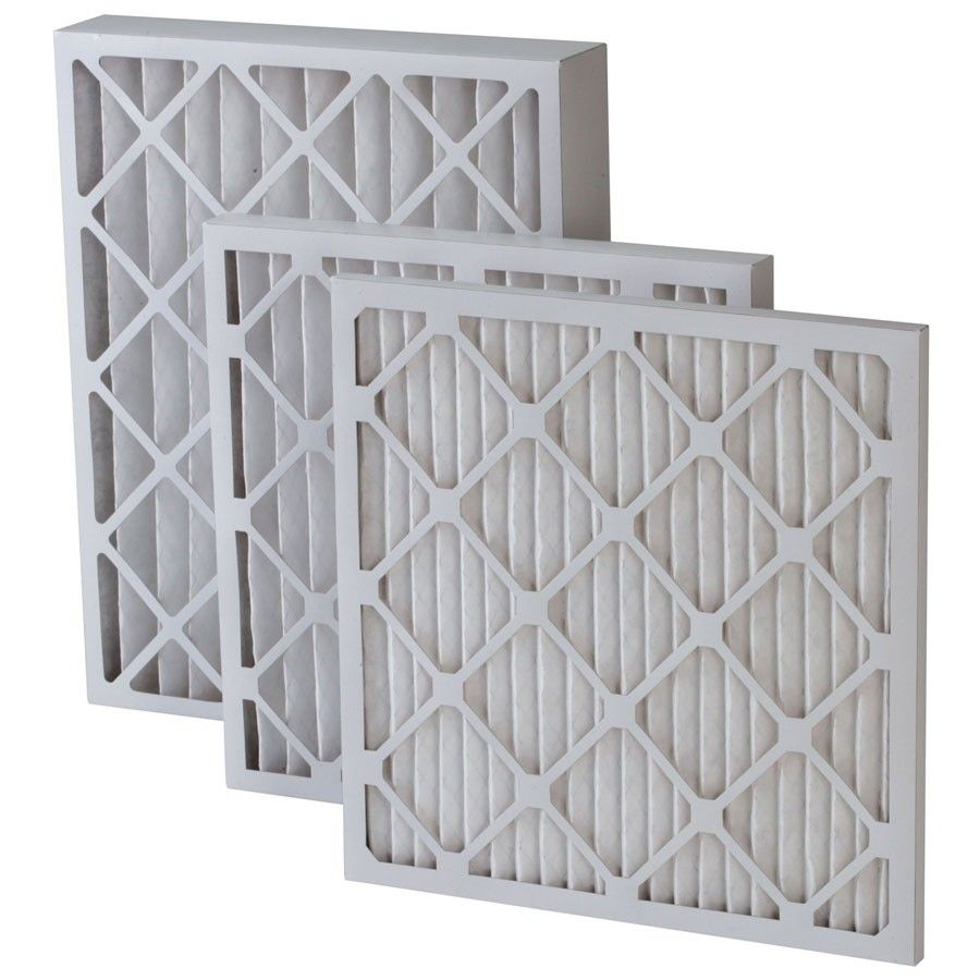 Merv 8 Pleated 4 Inch Filter Pack of 12 (Any Size) with FREE VIP Filter Club Membership