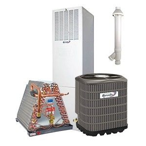 Revolv 2.0 Ton 14 SEER Gas System for Mobile Home Downflow 95% Efficient