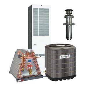 Revolv 4.0 Ton 14 SEER Gas System for Mobile Home Downflow