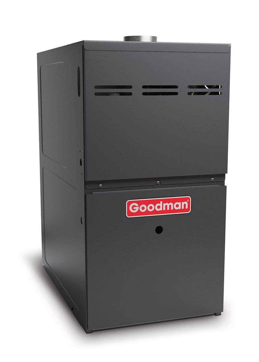 Goodman Gas Furnace - 80,000 BTU 80% Natural Gas Or Propane Two Stage Upflow/Horizontal - GMVC80804CNB