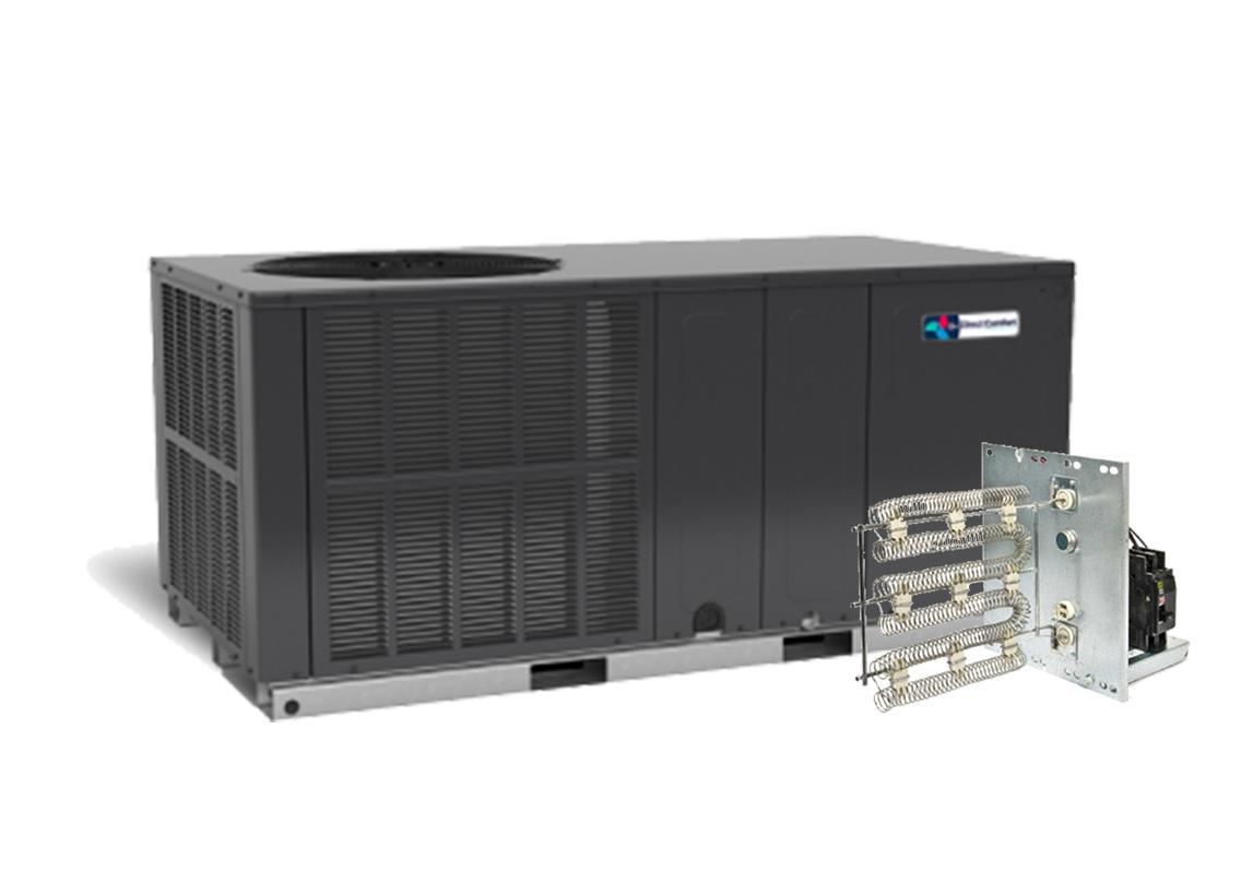 Direct Comfort 2.0 Ton 14 SEER Electric Heat Package Unit Horizontal