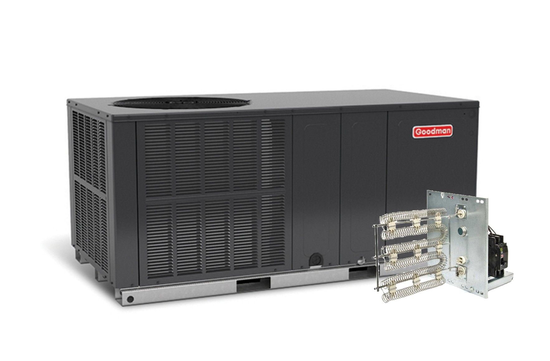 Goodman 3.5 Ton 16 SEER Single Stage Heat Pump Package Unit