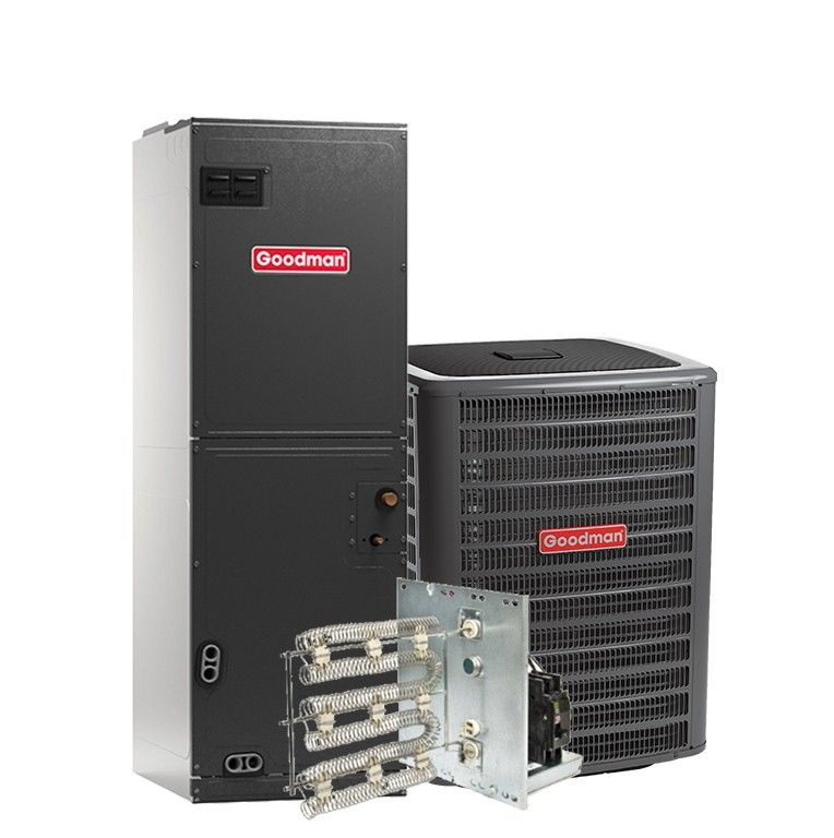 Goodman 3.5 Ton 13 SEER Air Conditioning System with Electric Heat