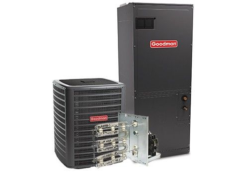 Goodman 4.0 Ton 16 SEER Single Stage Air Conditioning System with Electric Heat