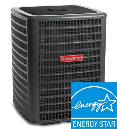 Goodman 16 SEER 5 Ton Two Stage Straight Cool Condenser