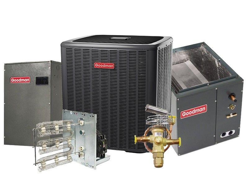 Goodman 5.0 Ton 17 SEER Heat Pump Two Stage Variable Speed Split System - UPFLOW