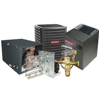 Goodman 5 Ton 17 SEER Two Stage Air Conditioner Variable Speed Split System Horizontal