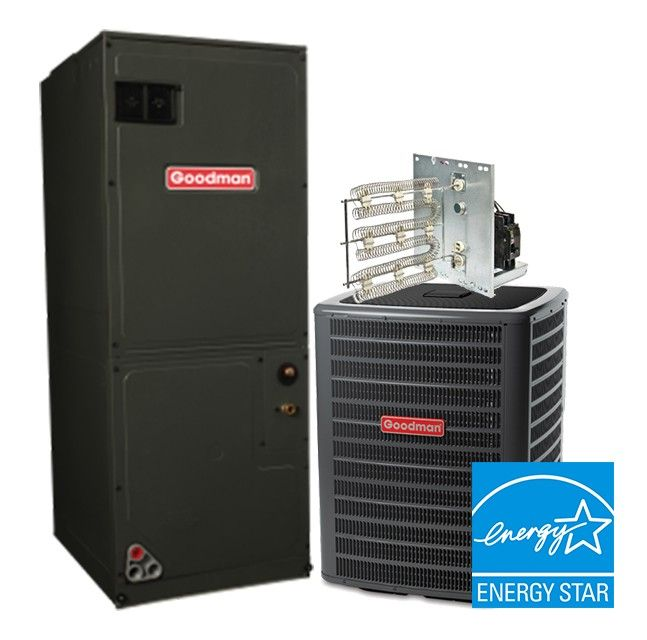 Goodman 2.5 Ton 16 SEER Heat Pump System STAR ENERGY