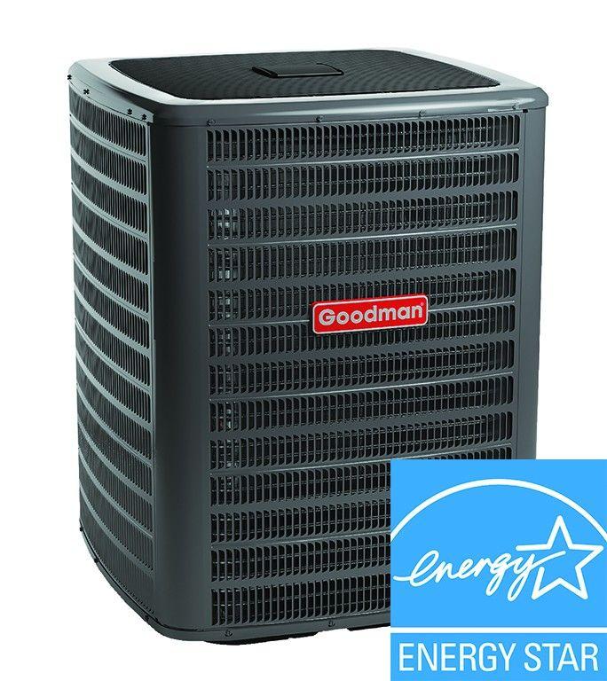 4 Ton AC Unit - Goodman 16 SEER Heat Pump Condenser - GSZC160481C