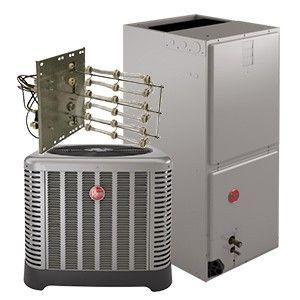 Rheem 1.5 Ton 14 SEER Heat Pump System