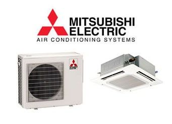 Mitsubishi 15 000 15 600 Btu Heat Pump W Ceiling Recessed