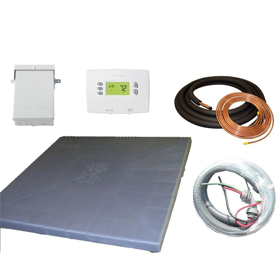 Installation Kit with Lineset for Goodman and Rheem 3.0 - 5.0 Ton Systems