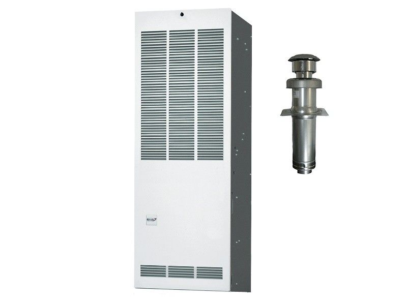Revolv 90K BTU 80% Gas Furnace for Mobile Home Downflow without Coil Cabinet