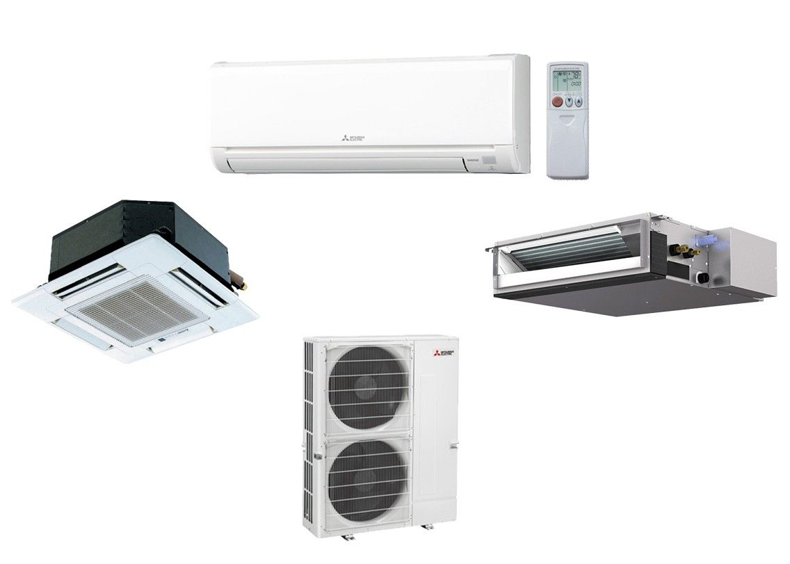 MXZ-8C48NA Split Air Conditioning and Heating 48K BTU - Up To 8 Indoor Units