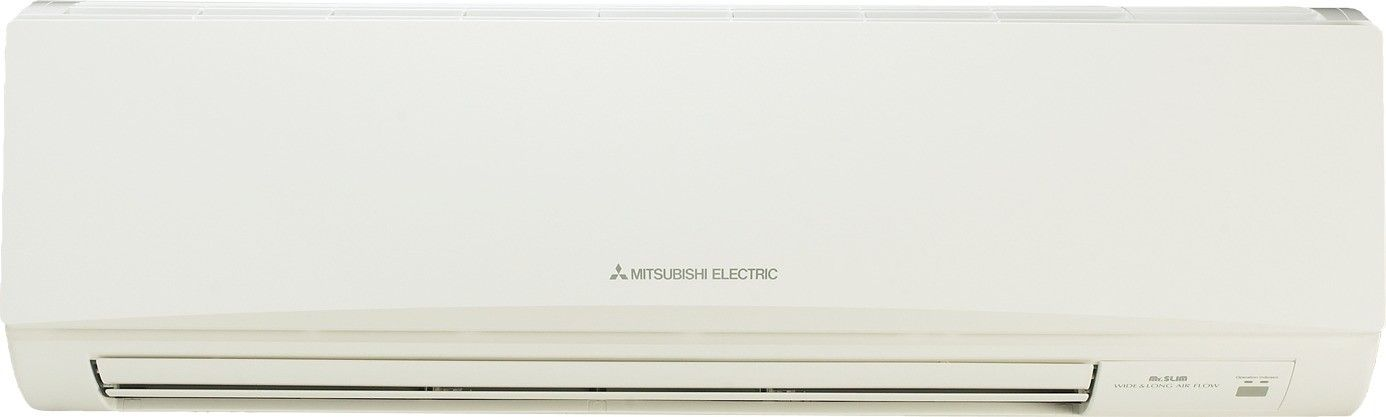 30K BTU Mitsubishi MSZ-D Wall-Mounted Heat Pump Indoor Unit