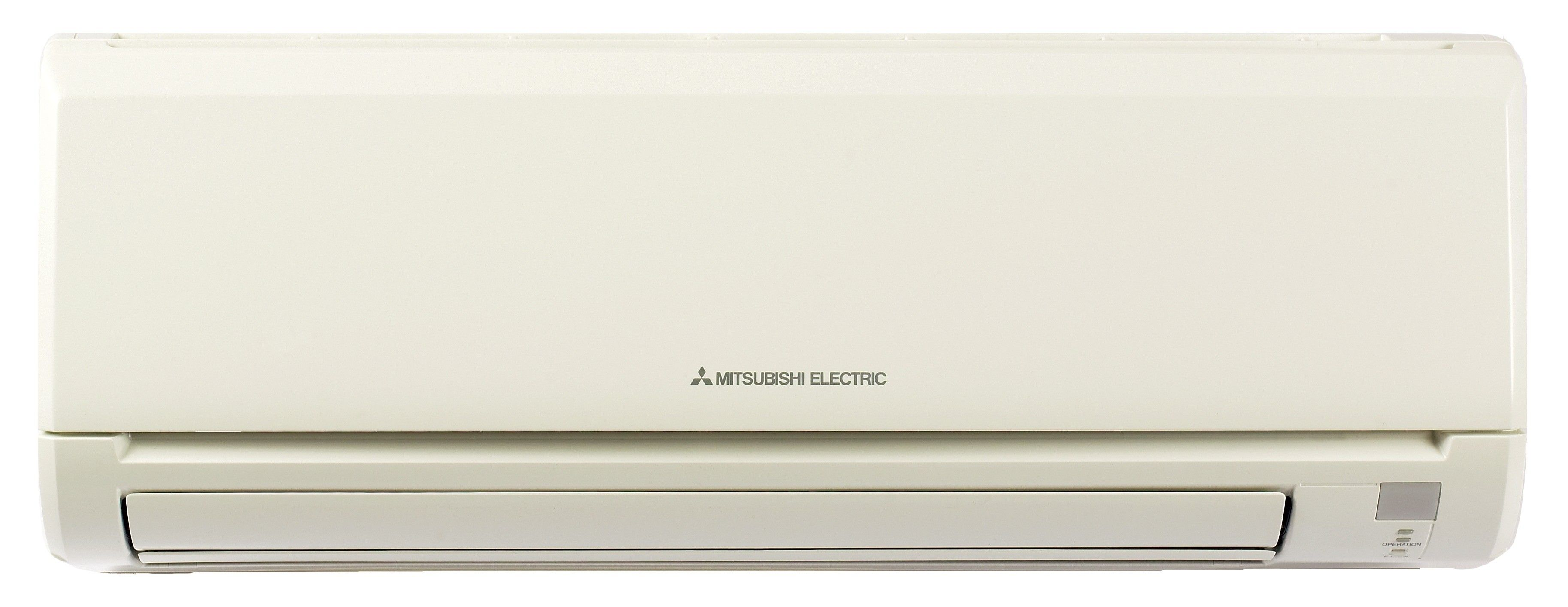 24K BTU Mitsubishi MSZGL Wall-Mounted Heat Pump Indoor Unit