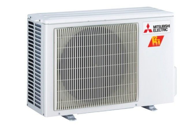 Mitsubishi 12K BTU Hyper Heat Condenser for  Floor Mount (single zone only)