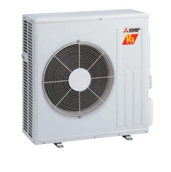 Mitsubishi 18K BTU Hyper Heat Condenser for Floor Mount (single zone only)