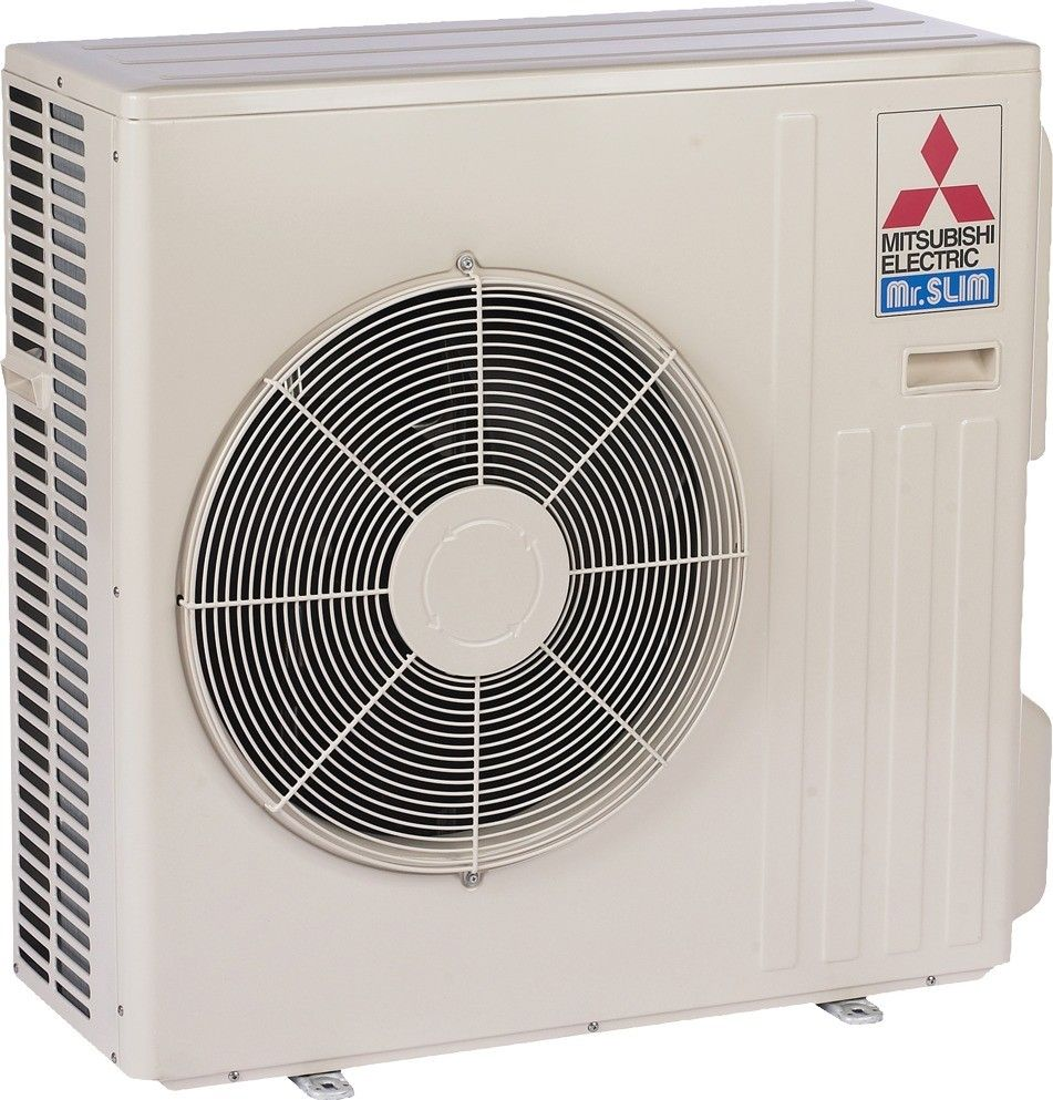 30K BTU Mitsubishi MUZ-D Heat Pump Outdoor Unit