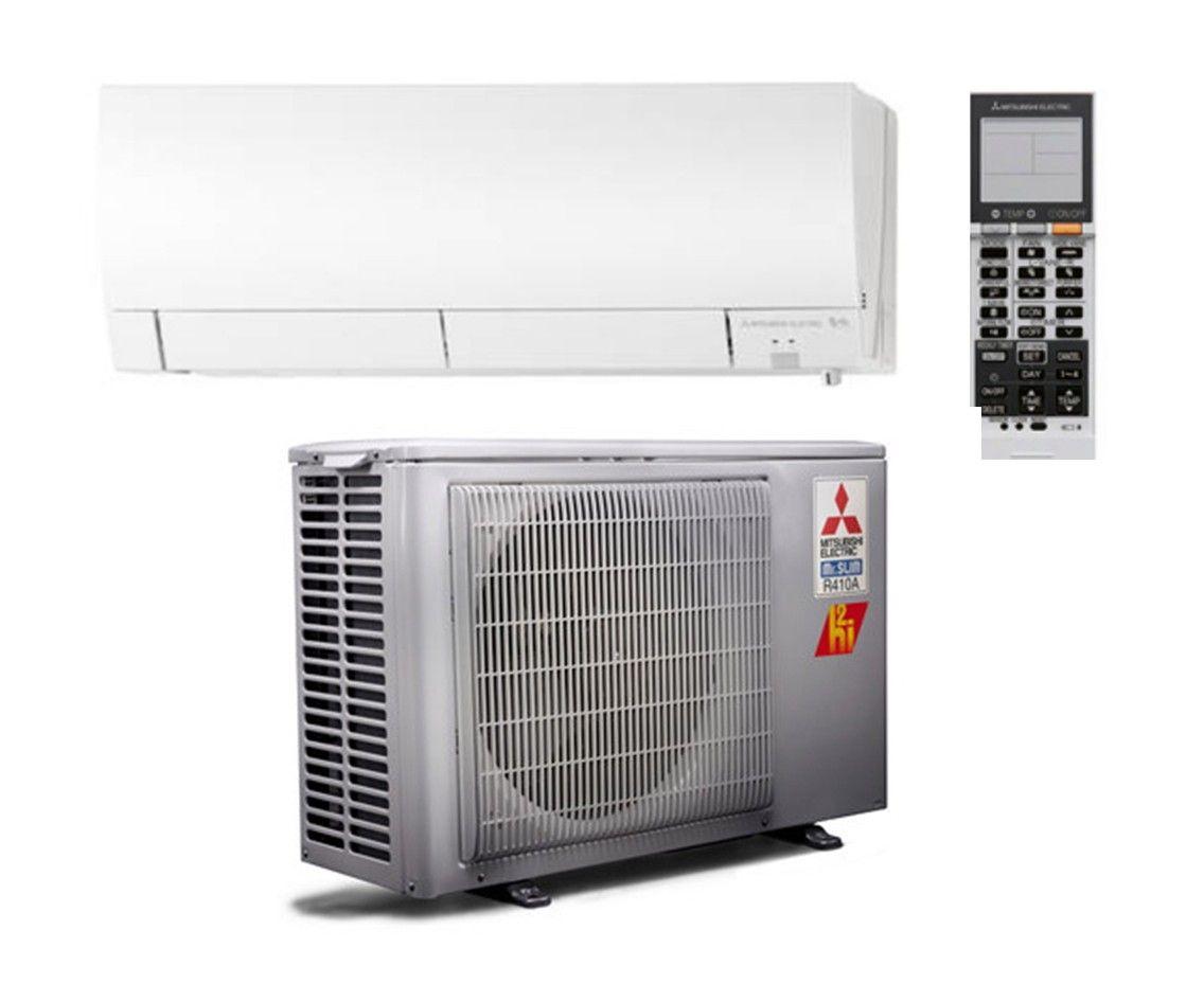 Mitsubishi 12,000 BTU Heat Pump Hyper Heat 26 SEER System