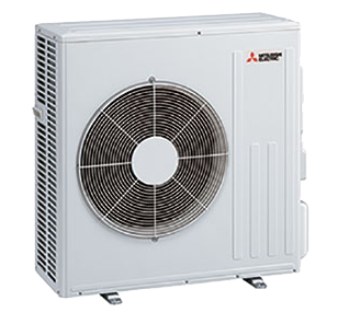 24K BTU 20.5 SEER Mitsubishi MUZGL Heat Pump Outdoor Unit
