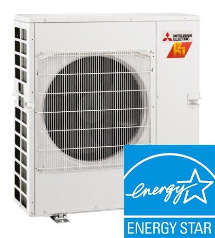 30K BTU Ton Mitsubishi MXZ Hyper Heat 3 Zone Condenser