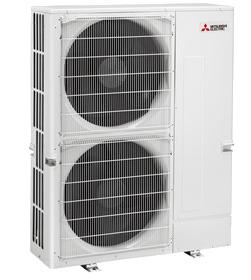 Mitsubishi 48K BTU 8 Zone Heat Pump Condenser - MXZ-8C48NA