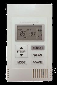 Mitsubishi Simple MA Remote Controller