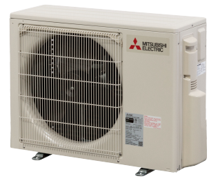 18K BTU Mitsubishi PUYA Outdoor Unit