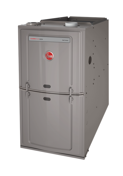 Rheem R801S 50K BTU 80% Single Stage Upflow/Horizontal Natural Gas Furnace