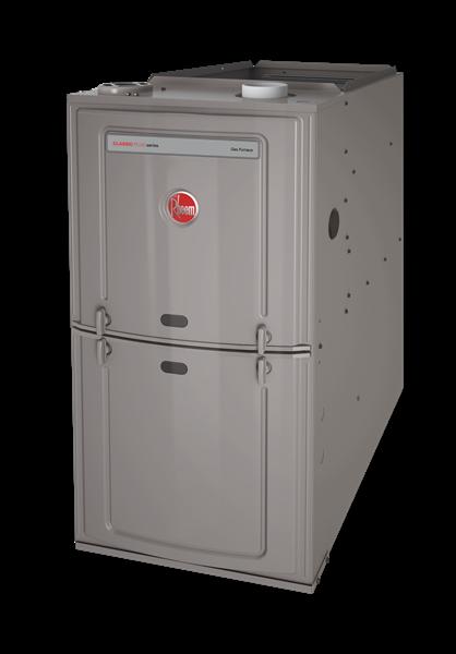 Rheem R801S 125K BTU 80% Single Stage Upflow/Horizontal Natural Gas Furnace